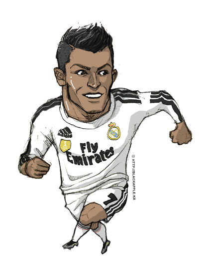 Real Madrid CF - Cristiano Ronaldo fan art