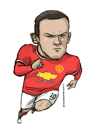 Manchester United - Wayne Rooney fan art