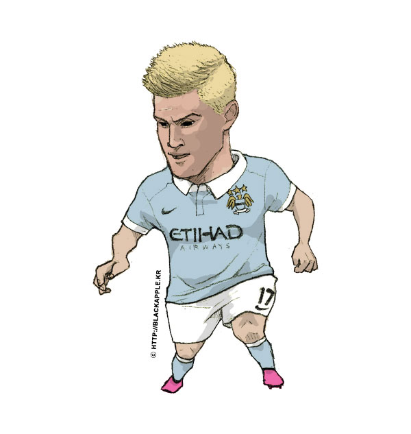 15/16Season Kevin De Bruyne Fan Art