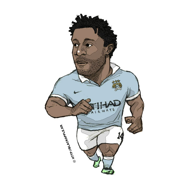 2015/16Season Wilfried Bony Fan Art
