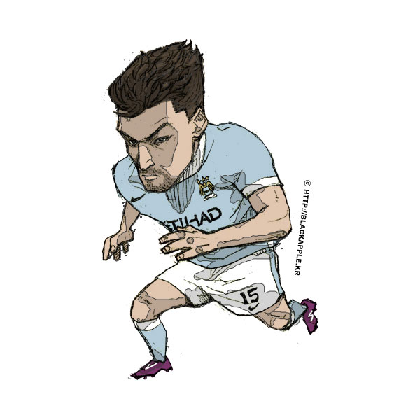 2015/16Season Jesus Navas Fan Art
