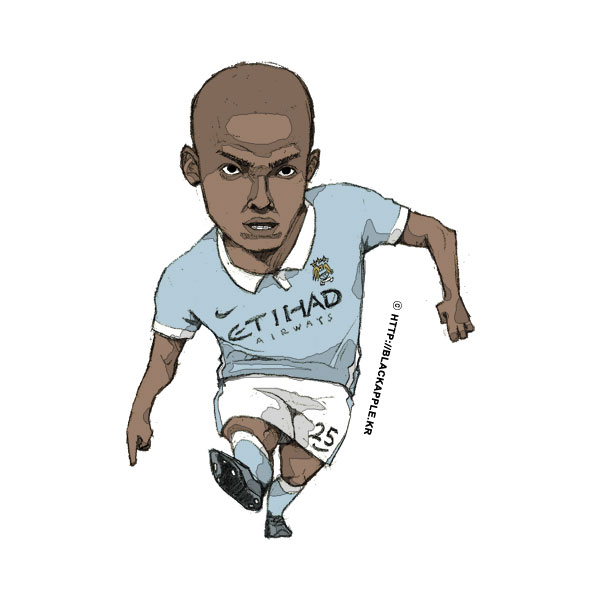 2015/16Season Fernandinho Fan Art