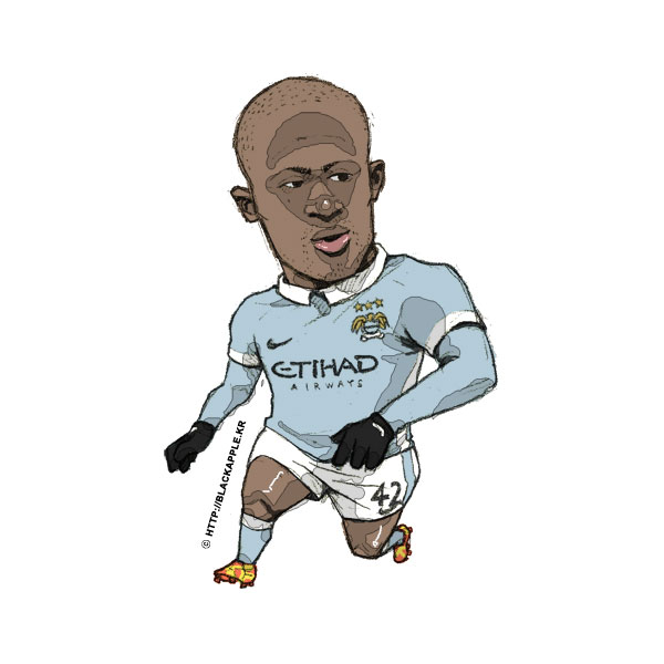 2015/16Season Yaya Toure Fan Art