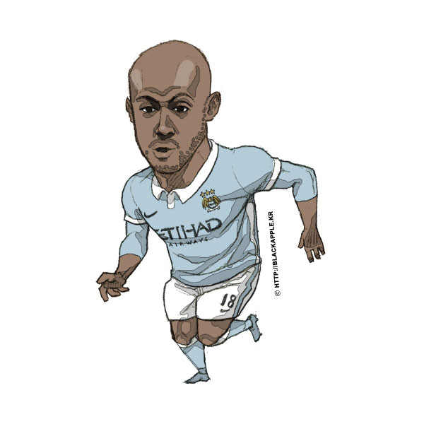 2015/16Season Fabian Delph Fan Art
