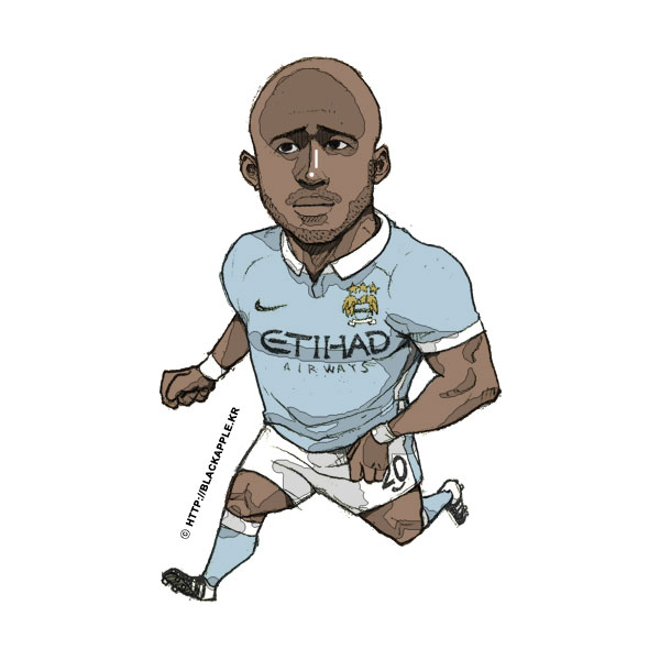 2015/16 Season Eliaquim Mangala Fan Art