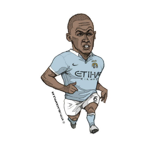 2015/16 Season Fernando Reges Fan Art