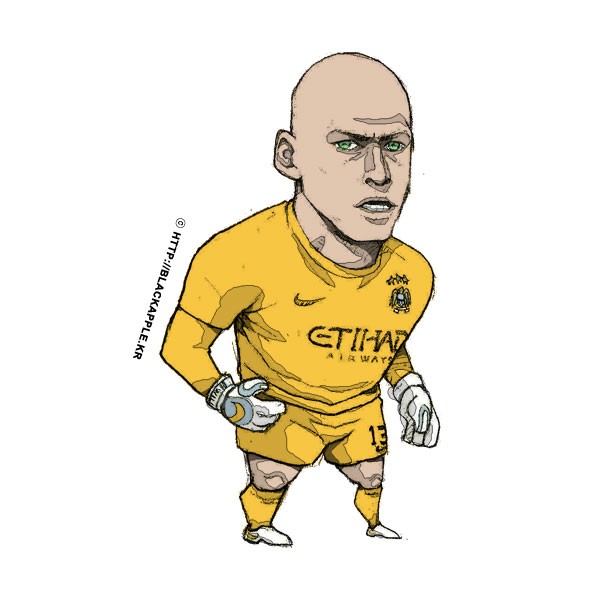 2015/16 Season Willy Caballero Fan Art