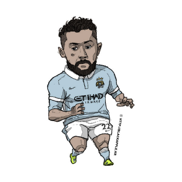 2015/16 Season Gael Clichy Fan Art