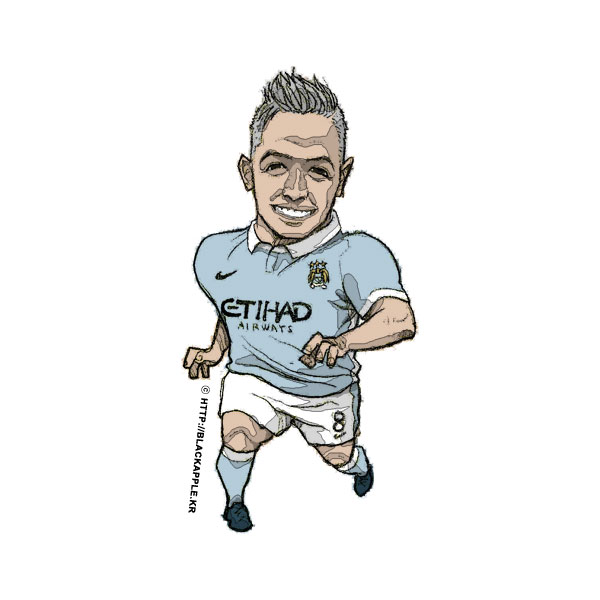 2015/16 Season Samir Nasri Fan Art