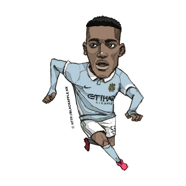 2015/16 Season Tosin Adarabioyo Fan Art