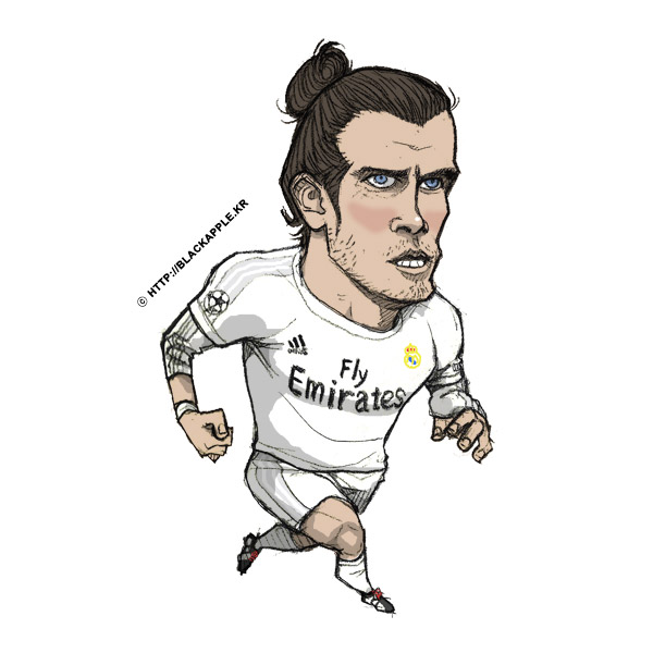 Real Madrid CF - Gareth Bale Fan Art