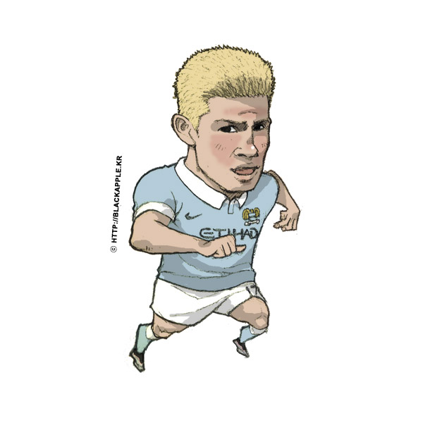 2015/16 Season Kevin De Bruyne Fan Art